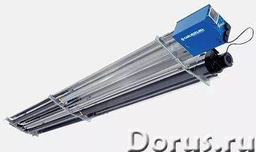 Инфракрасные газовые обогреватели (темного типа) - Промышленное оборудование - Газовые инфракрасные..., фото 1